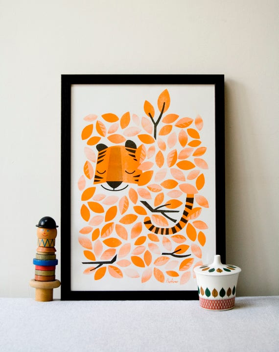 A3 RISO prints by Peski Studio - Multiple Purchase to save on postage