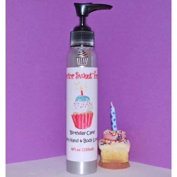 Vanilla Birthday Cake Body Lotion Paraben Free