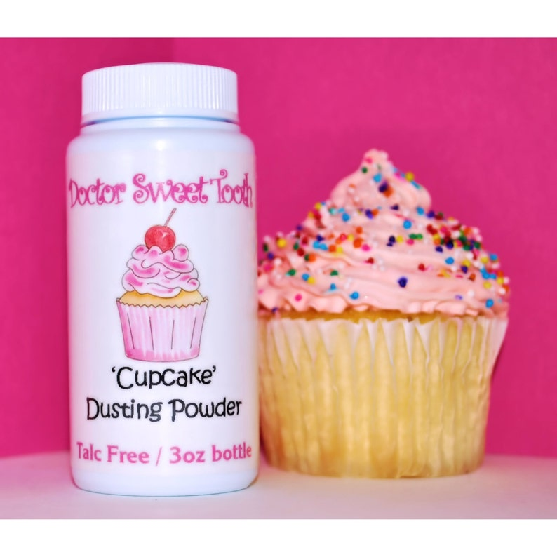 Cupcake Body And Foot Dusting Powder Talc Free