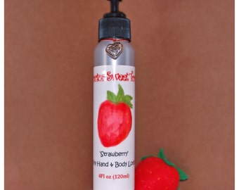 Strawberry Body Lotion (Paraben Free)