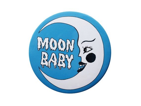 Moon Baby Button