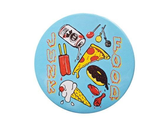 JUNK FOOD Button