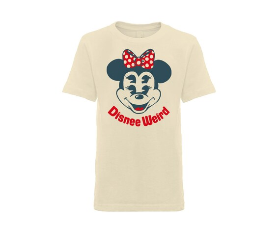 Disnee Weird Minnee T-Shirt in Cream