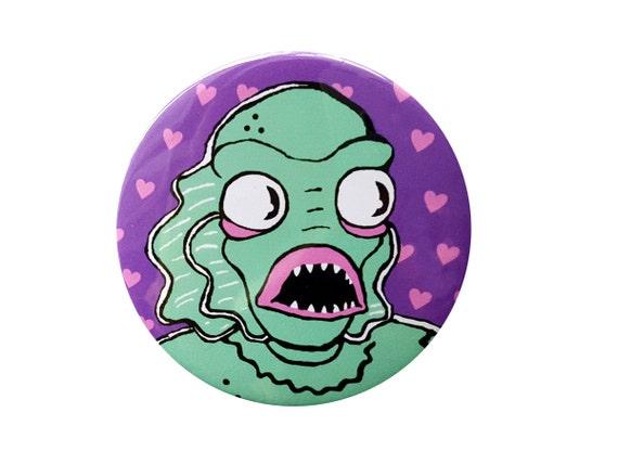 Creature Cutie Monster Button