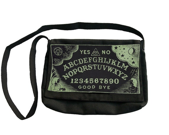 Glow-in-the-Dark Ouija Board Purse