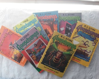 Black House R L Stine Goosebumps Books LOT