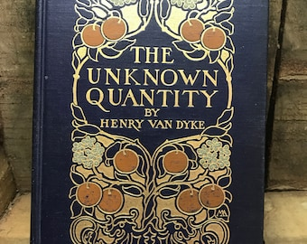 The Unknown Quantity from 1912 Antique book   Free Shipping