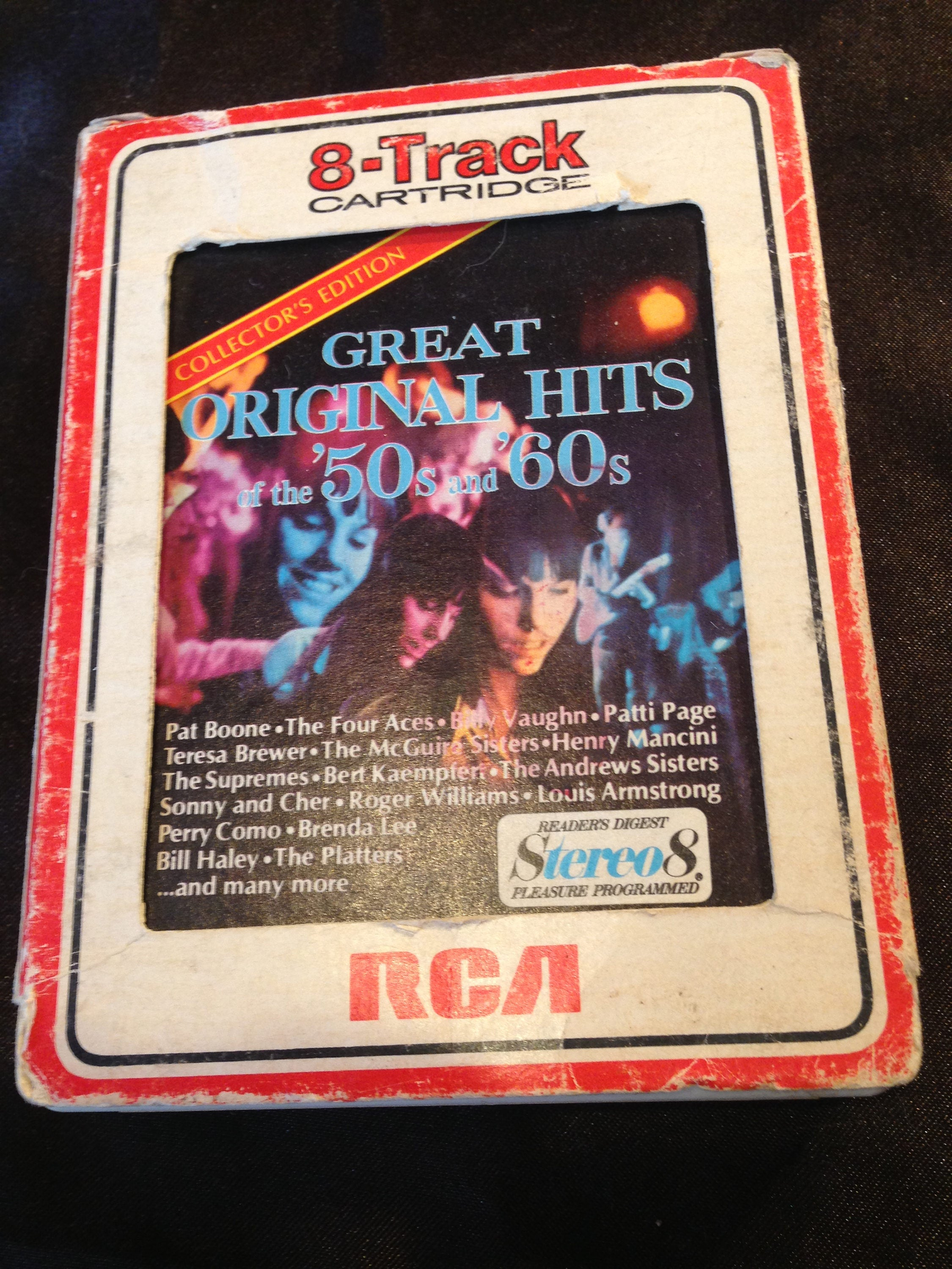 20's and 20's Great Original Hits   20 Track Tape Free Shipping