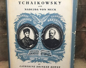 Beloved Friend The Story Of Tchaikowsky and Nadejda Von Meck 1937 book Free Shipping
