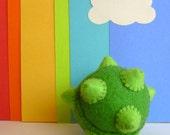 Green Katamari pincushion