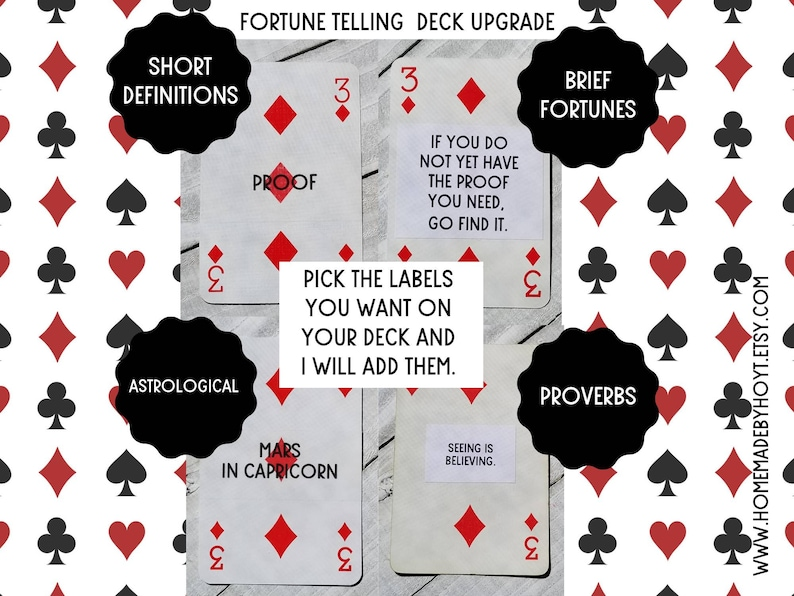 or with a WHAT? Book Kit Paramount Pictures Playing Cards as is as a Fortune Telling Deck FREE SHIPPING