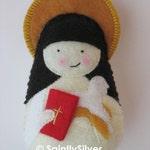 Saint Amelia Felt  Saint Softie