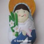 Saint Agnes Felt Saint Softie