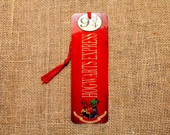 Wizarding Express Wood Bookmark