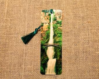 Multnomah Falls Wood Bookmark