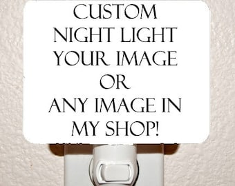 Make your own CUSTOM Night Light
