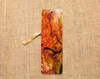 Japanese Maple Wood Bookmark