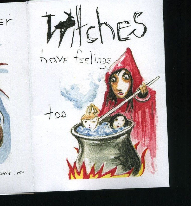 Witches  mini zine / book  Super Fancy. image 0