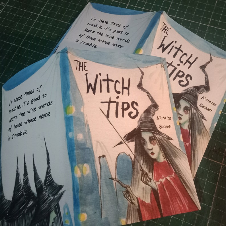 The Witch Tips  Advice from the underworld  Zine Book image 0