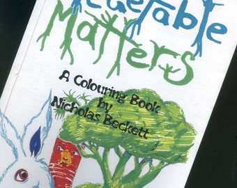 Vegetable Matters - Colouring book -
