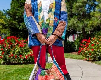 Kantha Inspired Kimono Style Jacket