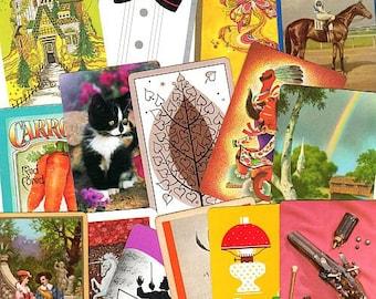 20 x Vintage Playing Card Swap ASSORTMENT lucky dip
