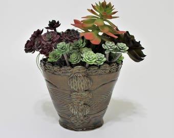 Planter - Succulent Planter - Small Planter - Succulent Bowl - Flower Pot - Succulent Pot - Stoneware - Gift for Couple - Housewarming