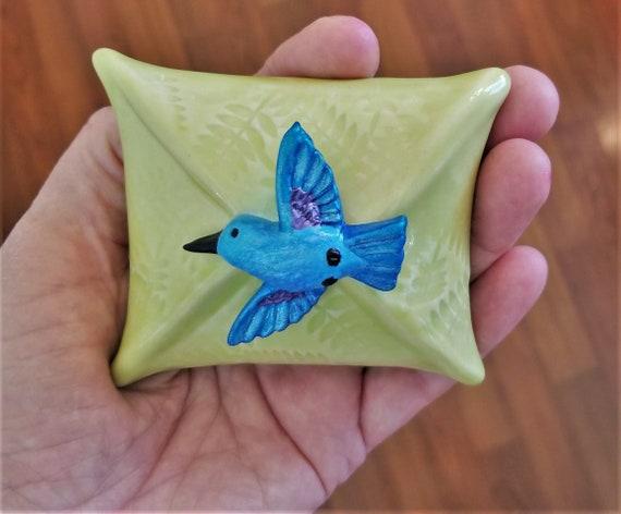 Hummingbird Rattle - Meditation Rattle - Shaman Rattle - Meditation Room - Relaxation - Inspirational Gift - Spirit Rattle - FREE SHIPPING