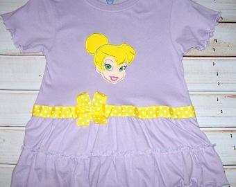 SAMPLE SALE Purple Dot Princess BELLE A-line Dress Size 2T--Ready to Ship--Princess Belle--Vacation--Birthday Party