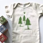 Evergreen Tree Organic One Piece