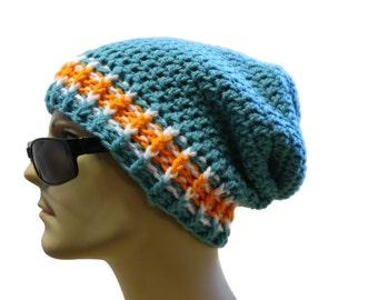 Mütze Hut übergroßen Beanie Mütze Herren Oder Damen Häkeln Etsy