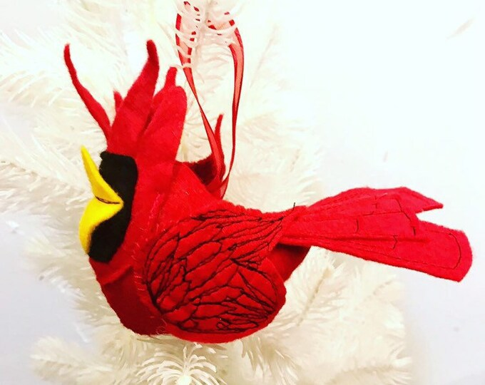 Featured listing image: Cardinal Ornament