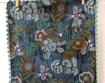 Rick Rack, Organic Cotton, Cloth Napkins, Cloud9 fabrics