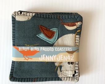 Birdy Bird Organic Cotton Coasters