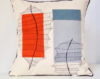 Leaf Abstract Pillow