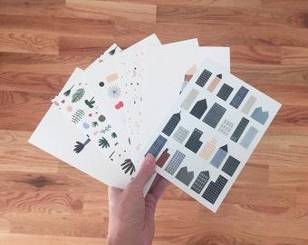 Postcard Pack of 6