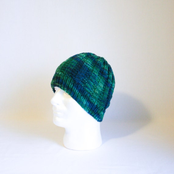 Sea Monster Hat Knitting Pattern Large Warm Cozy Ribbed Knit Etsy