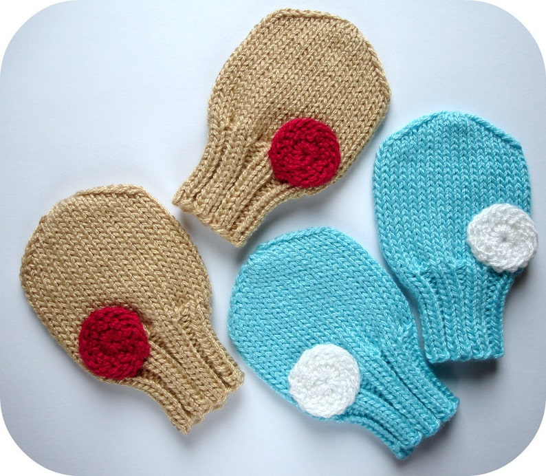 Knitting Pattern PDF Pat-a-cake Baby Mittens In Sizes 0 3 ...