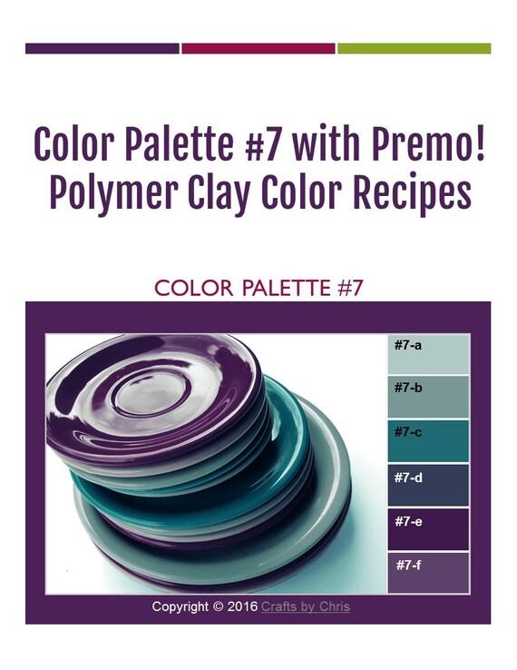Mixing pdf color recipes