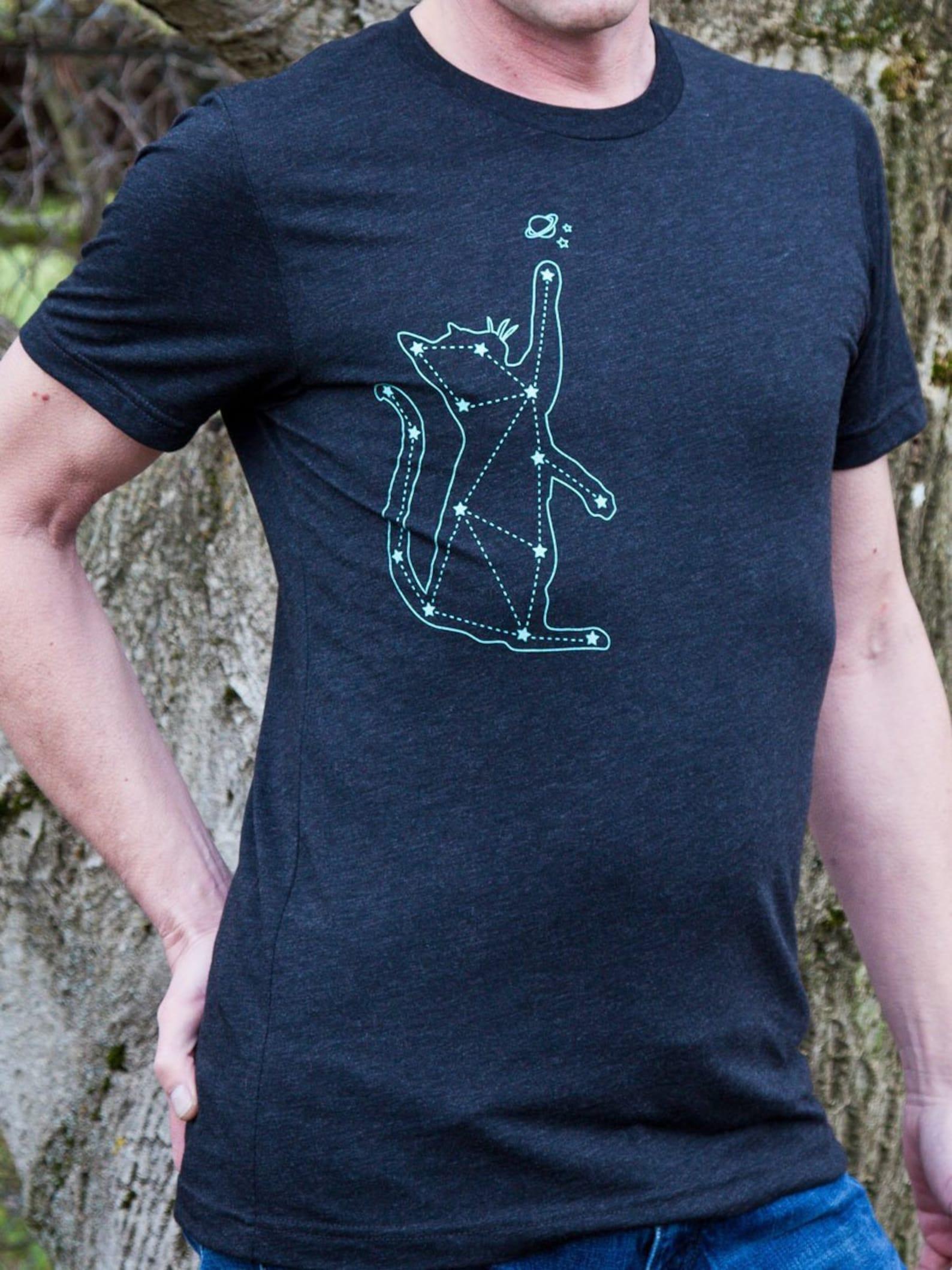Cat Constellation Men's Tee Shirt