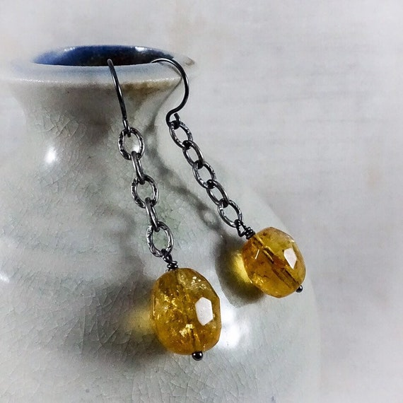 Wearable Sunshine Earrings