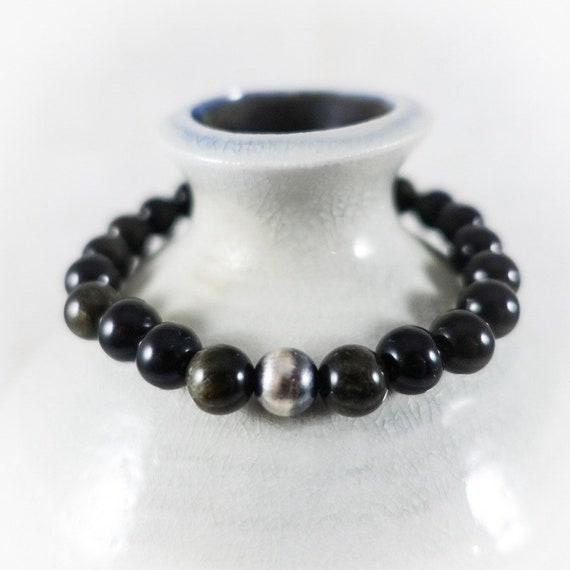 Golden Obsidian Bracelet