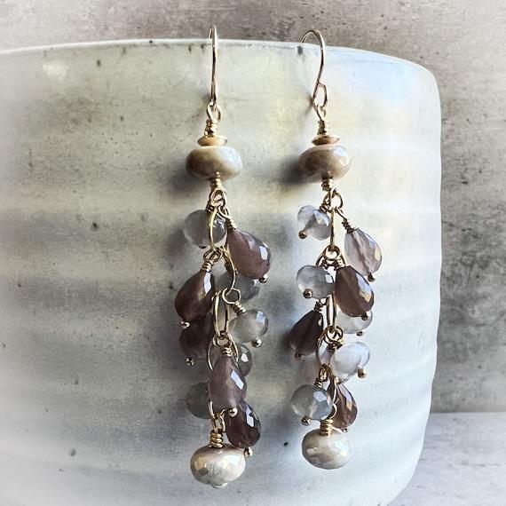 Many Moons Earrings