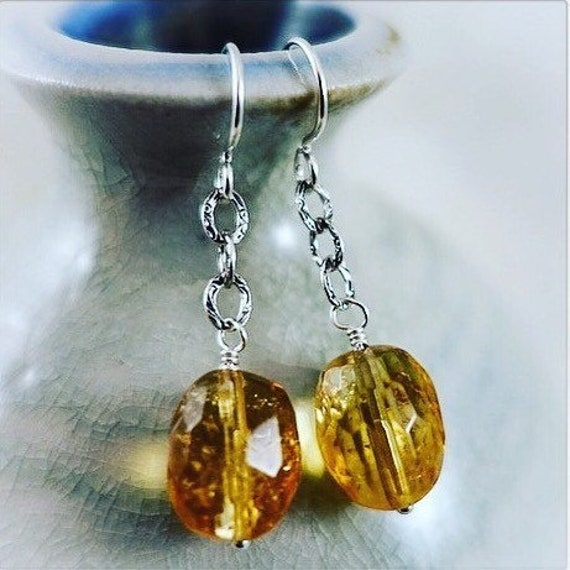 Wearable Sunshine Earrings
