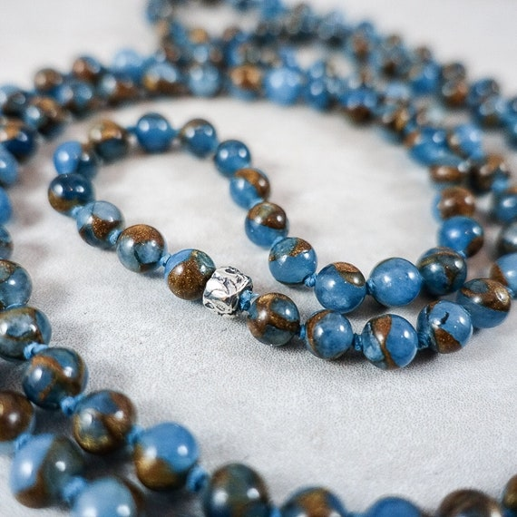 The Milestone Series: Golden Blue Agate