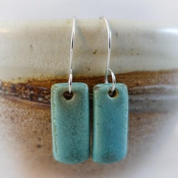 Ceramic Tile Earrings