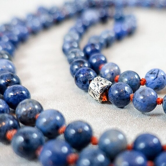 The Milestone Series: Blue Dumortierite