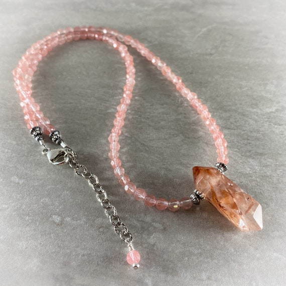 Rock Candy Series - Strawberry Quartz