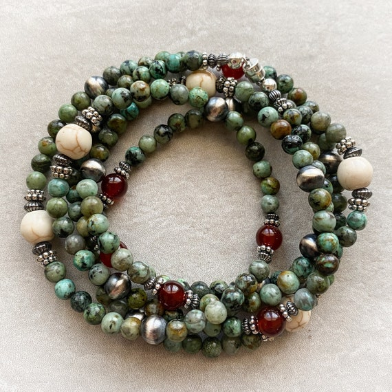 Versatility Necklace: African Turquoise
