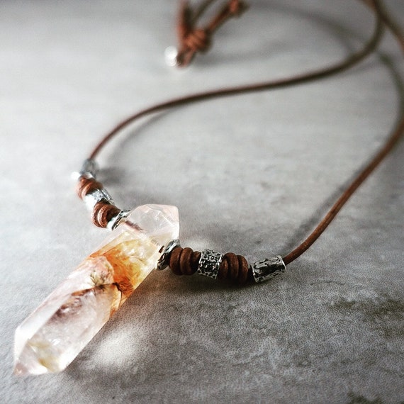 Fire and Ice Necklace